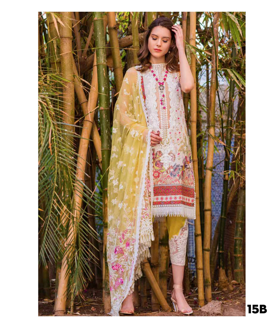 Sobia Nazir's Luxury Lawn Collection 2020 - 15B online Pakistani designer dress Anarkali Suits Party Werar Indian Dresses Pakistani Dresses