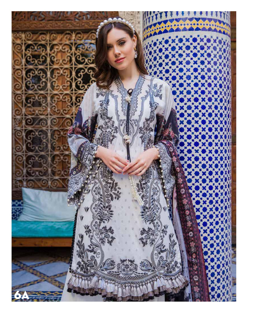 Sobia Nazir's Luxury Lawn Collection 2020 - 6A  online Pakistani designer dress Anarkali Suits Party Werar Indian Dresses Pakistani Dresses