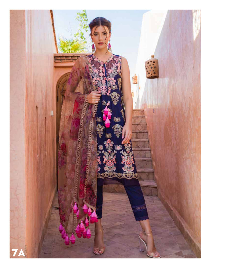 Sobia Nazir's Luxury Lawn Collection 2020 - 7A online Pakistani designer dress Anarkali Suits Party Werar Indian Dresses Pakistani Dresses