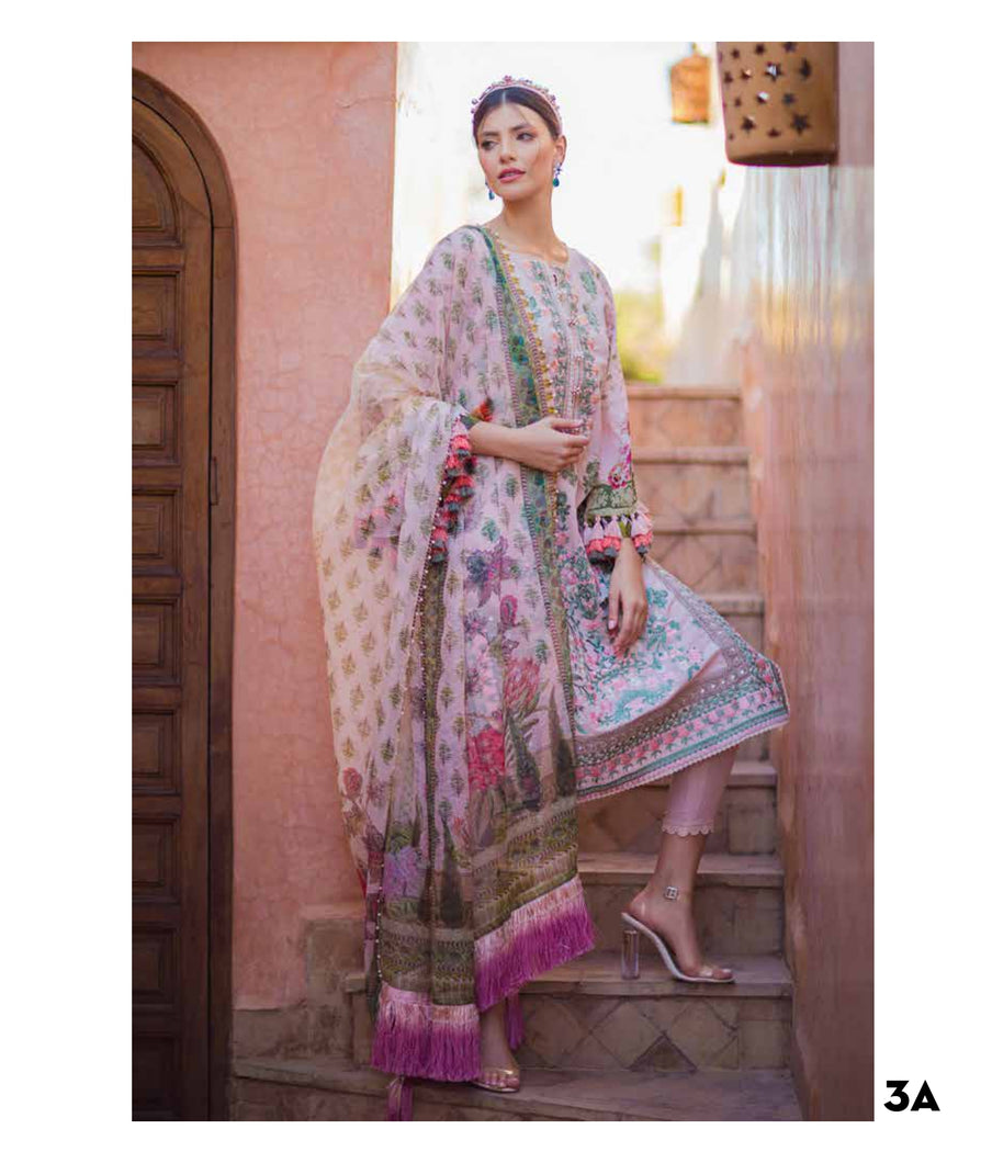 Sobia Nazir's Luxury Lawn Collection 2020 - 3A online Pakistani designer dress Anarkali Suits Party Werar Indian Dresses Pakistani Dresses