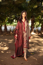 Load image into Gallery viewer, Shop now Sobia Nazir Winter Shawl 2021 collection at www.LebaasOnline.co.uk. Designer Net Embroidered mirror work, New Indian & Pakistani Designer Party wear Suits in the UK and USA at LebaasOnline. Browse New Latest Collection of Sobia Nazir Winter Shawl 2021 Wedding Party, Nikah & Walima dresses SALE at LebaasOnline.