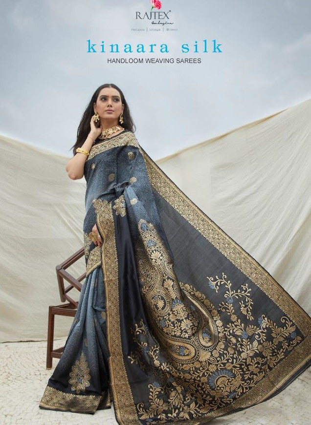KINAARA SILK | HANDLOOM WEAVING SILK SAREE DN137002