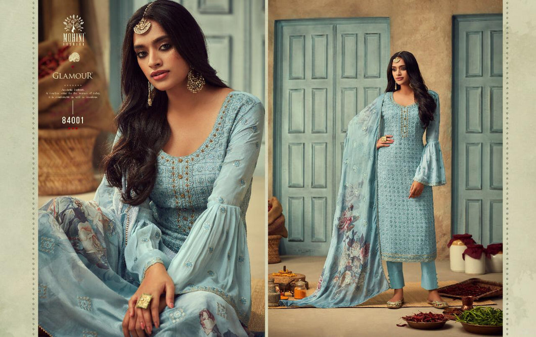 Mohini Glamour Indian Fashion Suit - DNo:84001