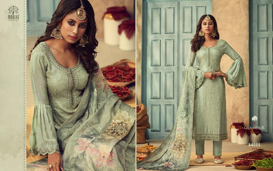 Mohini Glamour Indian Fashion Suit - DNo:84005