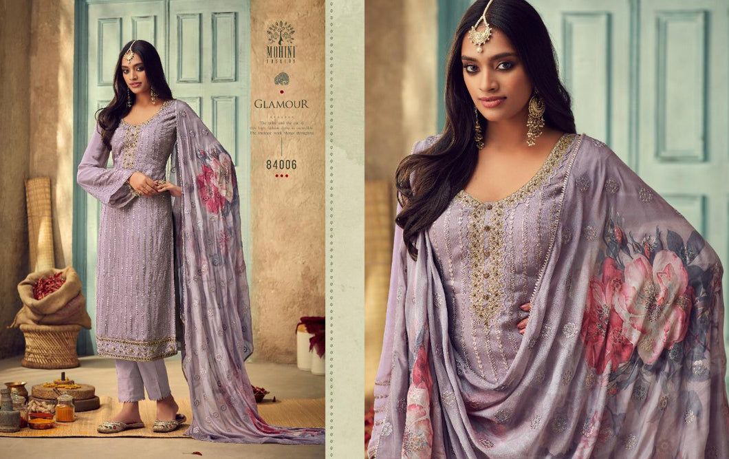 Mohini Glamour Indian Fashion Suit - DNo:84006