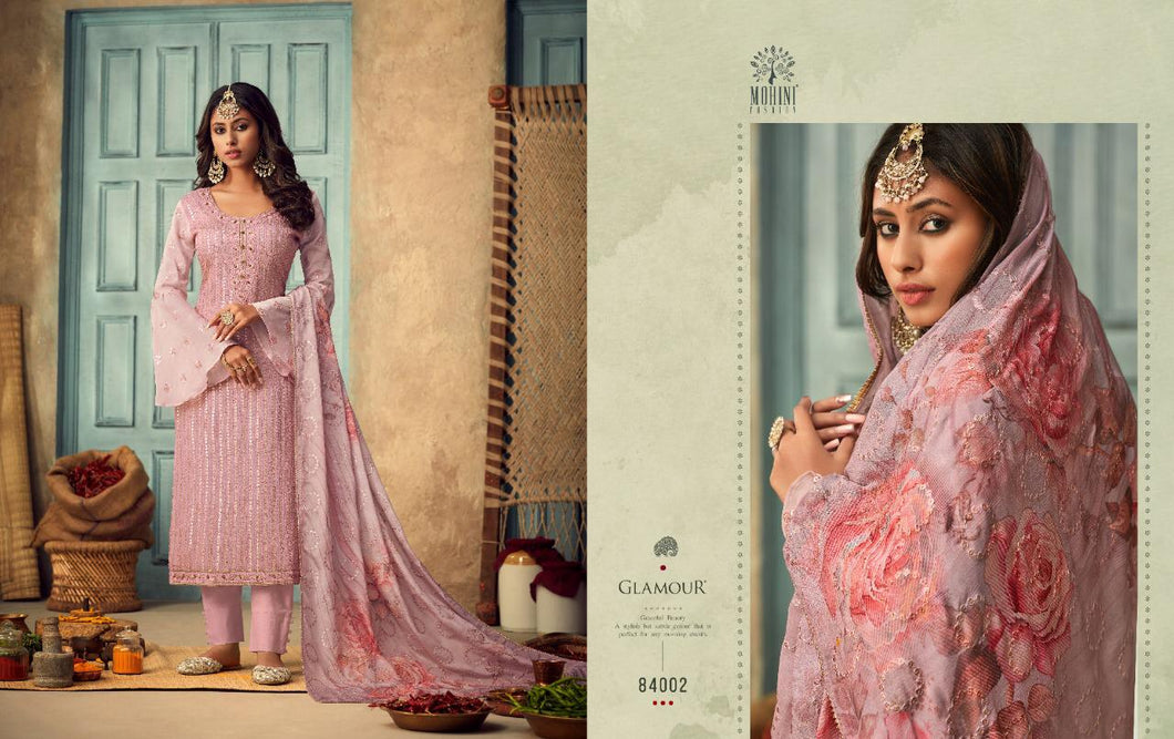 Mohini Glamour Indian Fashion Suit - DNo:84002