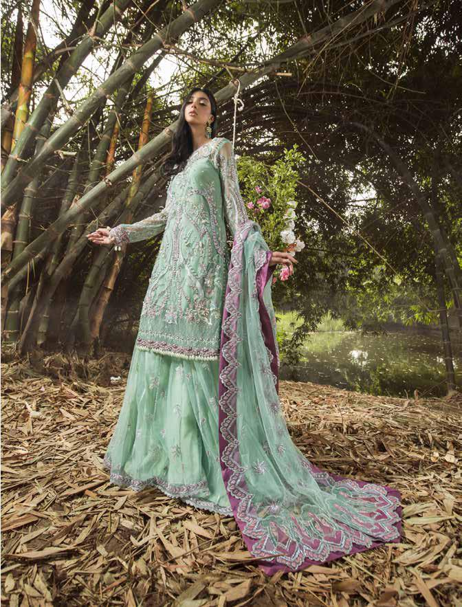 Alif By AJR Couture | Embroidered Luxury Suit | AJR20A-05-Laurel