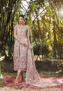 Alif By AJR Couture | Embroidered Luxury Suit | AJR20A-06-Primrose