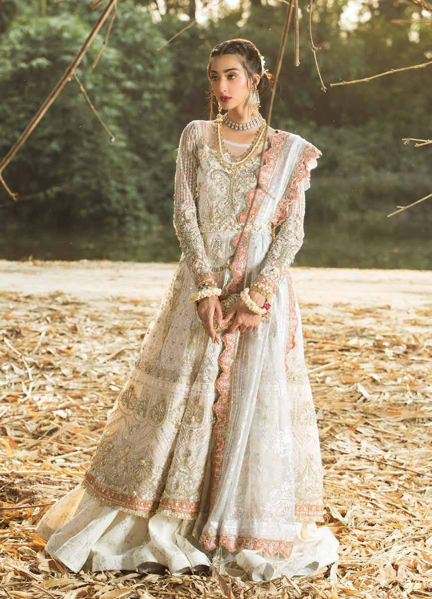 Alif By AJR Couture | Embroidered Luxury Suit | AJR20A-01-Jasmine