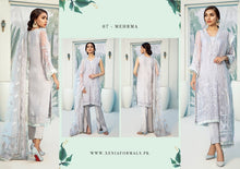Load image into Gallery viewer, Xenia Janaan Luxury Chiffon Collection 2020 - 07 Mehrma online Pakistani designer dress Anarkali Suits Party Werar Indian Dresses Pakistani Dresses Eid dresses online shoppingReady made Pakistani clothes UK Eid dresses UK online Eid dresses online shopping readymade eid suits uk eid suits 2019 uk pakistani eid suits uk eid suits 2020 uk Eid dresses 2020 UK