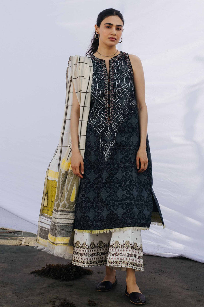 Buy COCO BY ZARA SHAHJAHAN LAWN 2021 | Z21-04A Black Lawn 100% PAKISTANI DESIGNER DRESSES at Lebaasonline. New summer lawn Eid collection of Zara Shahjahan 2021, PAKISTANI CLOTHING, Asim Jofa Party Suits, PAKISTANI BOUTIQUE are exclusively available online! Stitched & Readymade Eid dress in the UK France & New Zealand