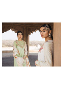 ZARA SHANJAHAN Pakeeza a Lawn Suit 2020 online Pakistani designer dress Anarkali Suits Party Werar IndianDresses