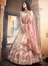 Load image into Gallery viewer, Offwhite Heavy Embroidered Lehenga