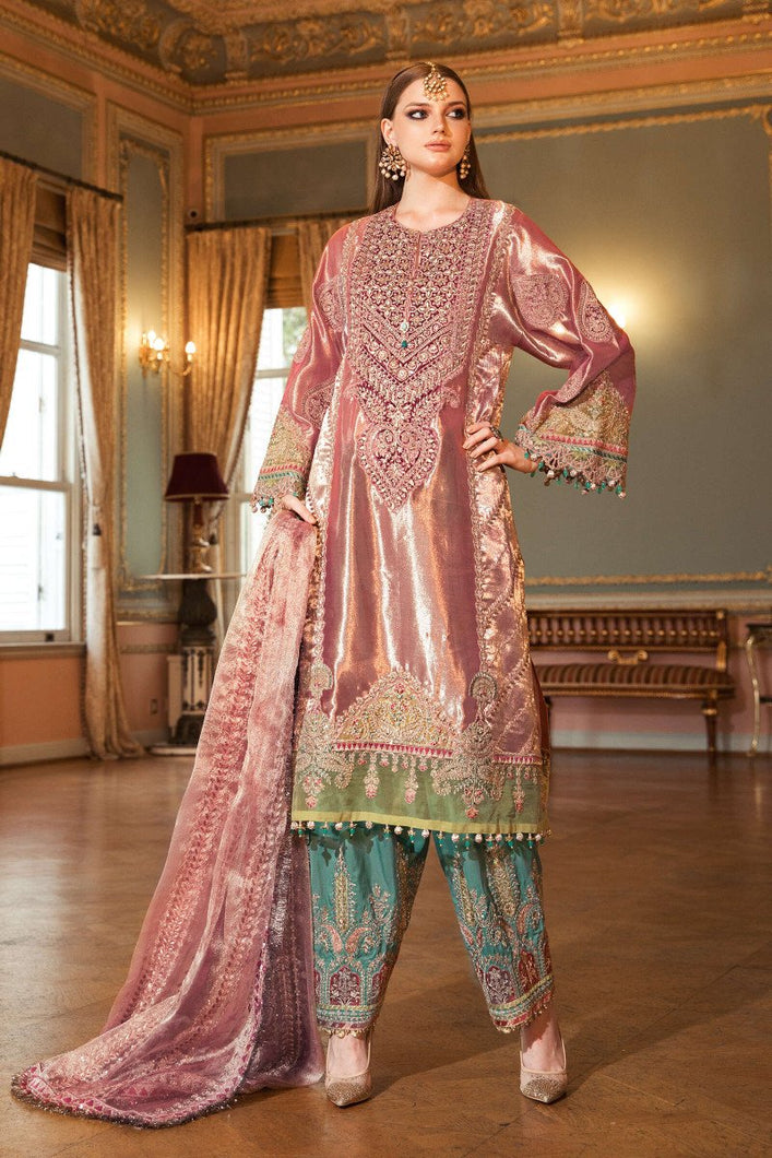 MARIA B at www.lebaasonline.co.uk - Shop Maria B Mbroidered Wedding Collection 2020- D8. 100% Original, Stitched, Unstitched & Ready made Maria B Dresses for Indian Pakistani Wedding and Party. Shop Now Pakistani Dresses By Maria B Online UK, Ready Made Pakistani Clothes UK, Asian Wedding Dresses & Gharara Suits-SALE!