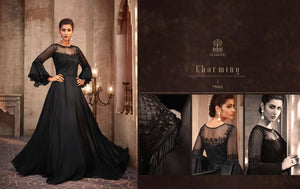 Black Indian Party Gown by Mohini Glamour - 75001