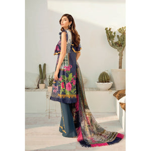 Azalea | Embroidered Lawn Spring Summer 20 | A-08