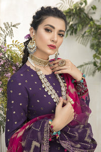 Buy MARIA B SATEEN Purple Pakistani Ready made, Stitched & unstitched 3 pc Suits Collection 2020 in the UK for Party & Wedding Festivities. Shop Now MARIA B SATEEN & Silk Off-White Indian Pakistani Dresses & Designer Wear for UK Asian Women Online at Best Price from LebaasOnline Boutique