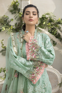 Buy MARIA B SATEEN Sea Green Pakistani Ready made, Stitched & unstitched 3 pc Suits Collection 2020 in the UK for Party & Wedding Festivities. Shop Now MARIA B SATEEN & Silk Off-White Indian Pakistani Dresses & Designer Wear for UK Asian Women Online at Best Price from LebaasOnline Boutique.