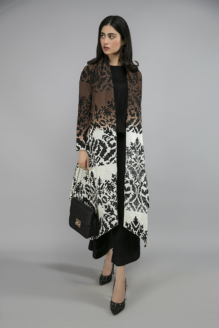 Buy Maria B Suit Black DW-W20-44 Ready to Wear and Stitched. Straight shirt with embroidered border and sleeves paired with tissue embroidered gharara and contrast two toned foiled printed dupatta. Shop Now  Maria b original dress from Maria b boutique & Party at LebaasOnline in the UK and USA at Best Price!