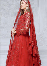 Load image into Gallery viewer, Shop EMAAN ADEEL - MAHERMAH 2021 | EA21M 01 Noor-e-Chasham at www.LebaasOnline.co.uk. Khaddi Net Embroidered hand mirror work, New Indian & Pakistani Designer Partywear Suits in the UK and USA at LebaasOnline. Browse new EMAAN ADEEL - MAHERMAH 2021 | EA21M 01 Wedding Part & Nikah dresses SALE at LebaasOnline.