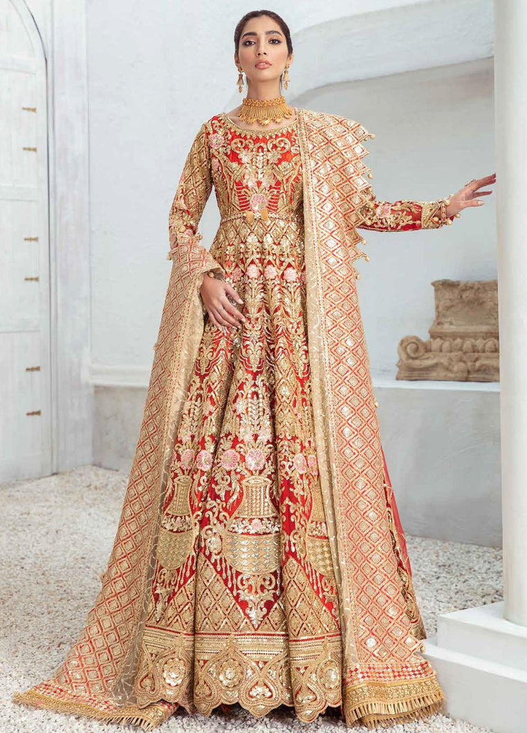 PAKISTANI BRIDAL OUTFITS by Maryum N Maria Freesia 2021, Red Luxury Suits from Lebaasonline Pakistani Clothes in the UK @ best price- SALE ! Shop Maryum n Maria Brides 2021, Noor, Maria B Clothes Online UK for Wedding, Party & Bridal Wear. Indian & Pakistani Summer Dresses by Maryum N Maria in UK & USA @ LebaasOnline.