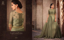 Load image into Gallery viewer, Green Indian Party Gown by Mohini Glamour - 75004