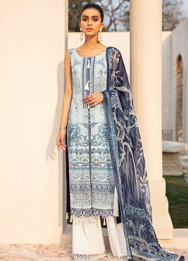 Buy Gulaal Lawn 2021 - Volume 1 GL21L GL-01 White from Lebaasonline Pakistani Clothes Stockist in the UK @ best price- SALE ! Shop Gulaal Lawn 2021, Maria B Lawn 2021 Summer Suits, Pakistani Clothes Online UK for Wedding, Party & Bridal Wear. Indian & Pakistani Summer Dresses by Gulaal in the UK & USA at LebaasOnline.