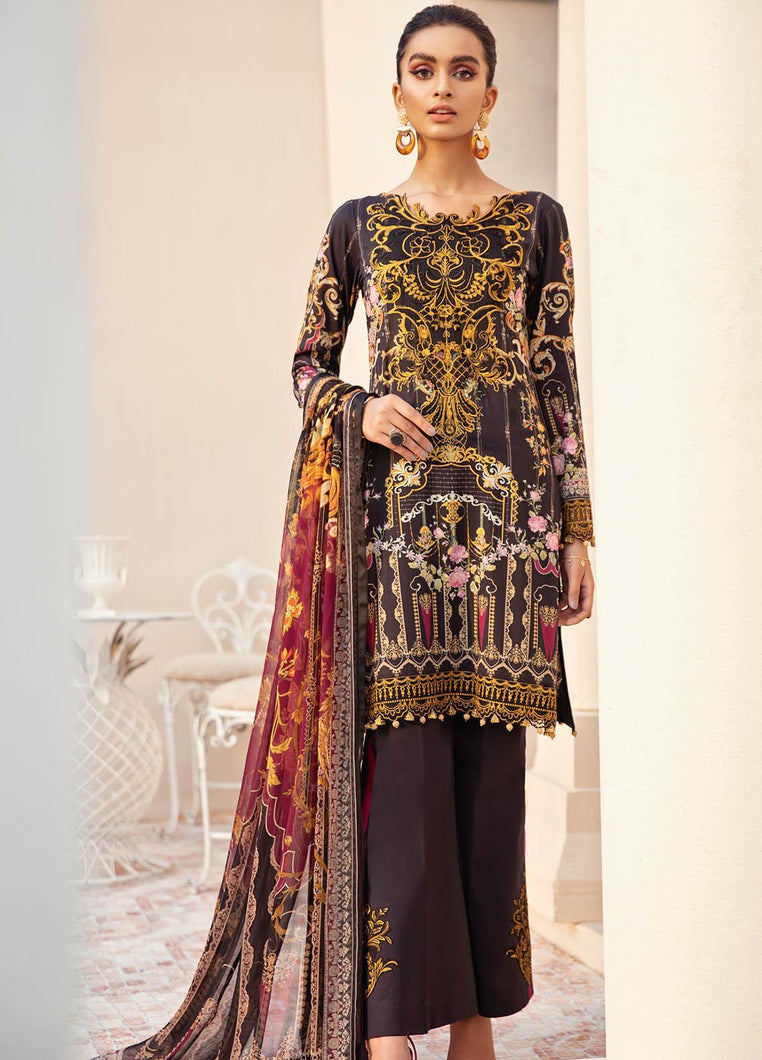Buy Gulaal Lawn 2021 - Volume 1 GL21L GL-04 Black from Lebaasonline Pakistani Clothes Stockist in the UK @ best price- SALE ! Shop Gulaal Lawn 2021, Maria B Lawn 2021 Summer Suits, Pakistani Clothes Online UK for Wedding, Party & Bridal Wear. Indian & Pakistani Summer Dresses by Gulaal in the UK & USA at LebaasOnline.