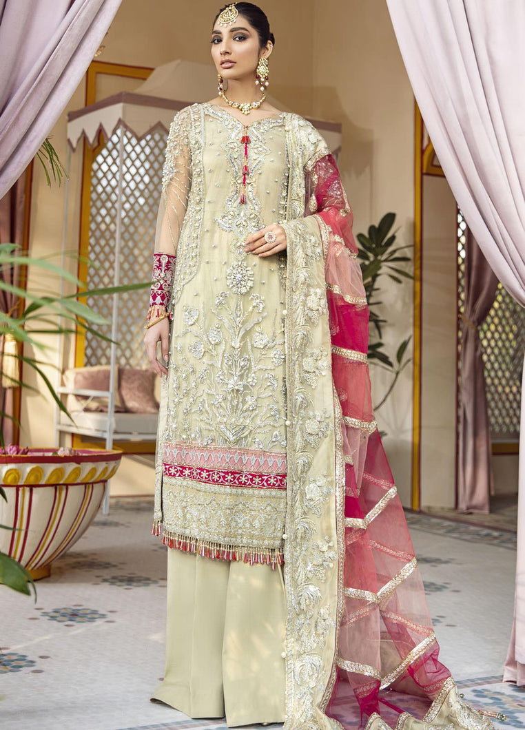 Buy GULAAL | Luxury Formals Wedding Collection 2020 -Kehkshan WD 04 from Lebaasonline Pakistani Clothes Stockist in the UK at best price- SALE ! Shop Now Pakistani Clothes Online UK for Wedding, Party & Bridal Wear. Indian & Pakistani Dresses Unstitched and Stitched Ready to Wear Embroidered by Gulaal in the UK & USA .