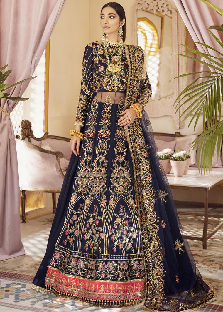 Buy GULAAL | Luxury Formals Wedding Collection 2020 -Sahiba WD 05 from Lebaasonline Pakistani Clothes Stockist in the UK at best price- SALE ! Shop Now Pakistani Clothes Online UK for Wedding, Party & Bridal Wear. Indian & Pakistani Dresses Unstitched and Stitched Ready to Wear Embroidered by Gulaal in the UK & USA .