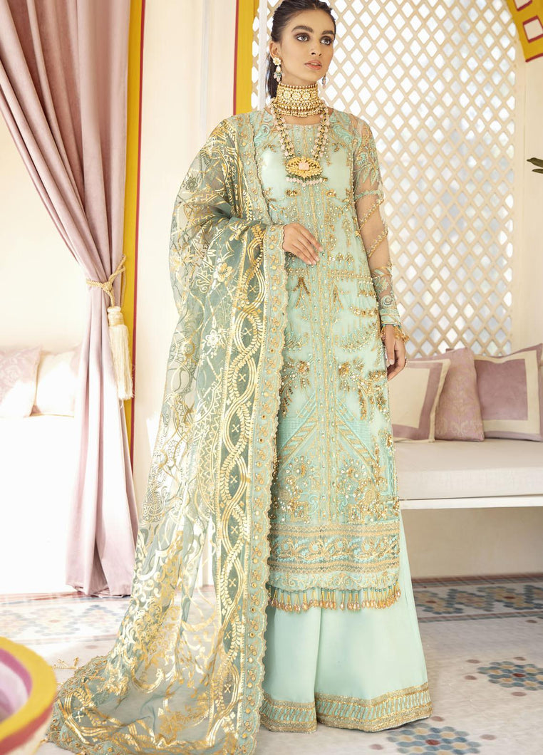 Buy GULAAL | Luxury Formals Wedding Collection 2020 --Qudsia WD 08 from Lebaasonline Pakistani Clothes Stockist in the UK at best price- SALE ! Shop Now Pakistani Clothes Online UK for Wedding, Party & Bridal Wear. Indian & Pakistani Dresses Unstitched and Stitched Ready to Wear Embroidered by Gulaal in the UK & USA .