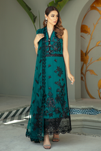 Load image into Gallery viewer, IMROZIA PREMIUM EMBROIDERY  I-138 Green Chiffon Eid dress exclusively from us We are largest stockist of Imrozia Premium Chiffon collection Maria b and all other Pakistani designer clothes The fine embroidery and subtle color of the dress are great combinations for Eid outfits. Buy from Lebaasonline in UK Spain Austria