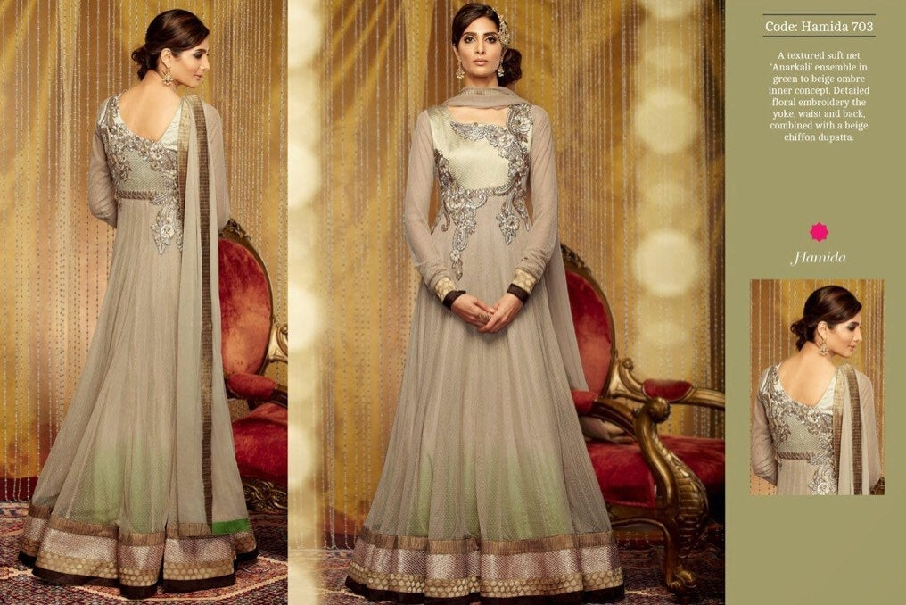 Designer Kimora Anarkali Dress - LebaasOnline