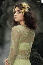 Load image into Gallery viewer, Zoya Designer sparkling Anarkali Suit English green - LebaasOnline