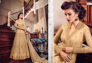 Royal Designer Anarkali Dress by Glossy - LebaasOnline