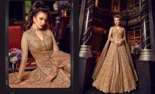 Load image into Gallery viewer, Golden Embroidered Anarkali Dress - LebaasOnline