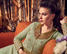 Load image into Gallery viewer, Pista Green Anarkali Dress - LebaasOnline