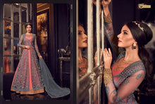 Load image into Gallery viewer, Pink and Grey Anarkali Dress - LebaasOnline