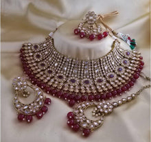 Load image into Gallery viewer, AMANII Blush and dazzle chocker sets - LebaasOnline