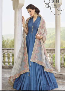 VIRASAT-Banglori Silk Party Gowns - LebaasOnline