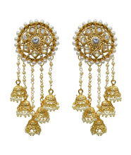 Load image into Gallery viewer, Bahubali Bollywood Earrings Indian Jewellery - LebaasOnline