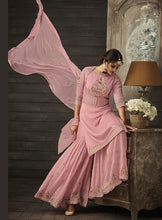 Load image into Gallery viewer, Bollywood Fashion Sharara Suit by Zoya in colours - LebaasOnline