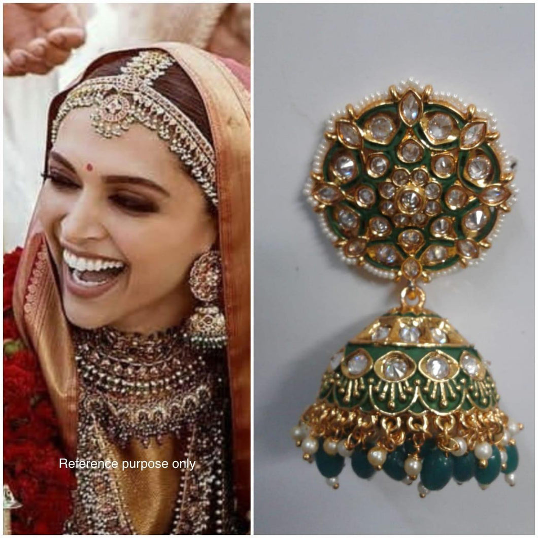 DEEPIKA - wedding  indian Bollywood jewellery - LebaasOnline