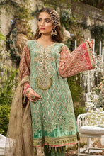 Load image into Gallery viewer, MARIA B Eid 2019 Embroidered Suit Green - LebaasOnline