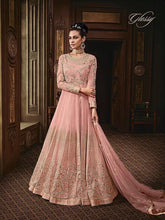 Load image into Gallery viewer, MAJESTY - Glossy Designer pink gowns - LebaasOnline