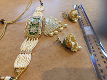 Load image into Gallery viewer, NIZZAMI- Indian jewellery choker set - LebaasOnline