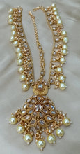 Load image into Gallery viewer, INDIAN BRIDAL- Gold wedding jewellery set - LebaasOnline