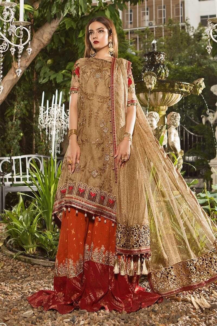 Eid 2019 Embroidered Salwar kamiz suit by Maria B - LebaasOnline