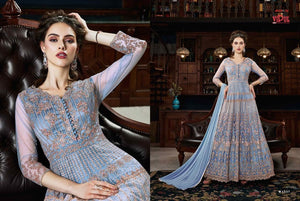 VIPUL- Trendy Pastel Coloured Indian Gowns - LebaasOnline