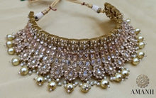 Load image into Gallery viewer, Indian Wedding Party jewellery Set by Amanii Crystal collection - LebaasOnline